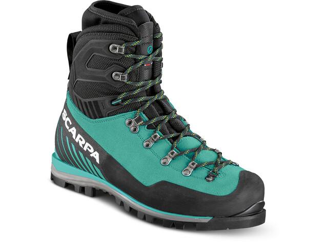 Scarpa Mont Blanc Pro GTX Shoes Women green blue